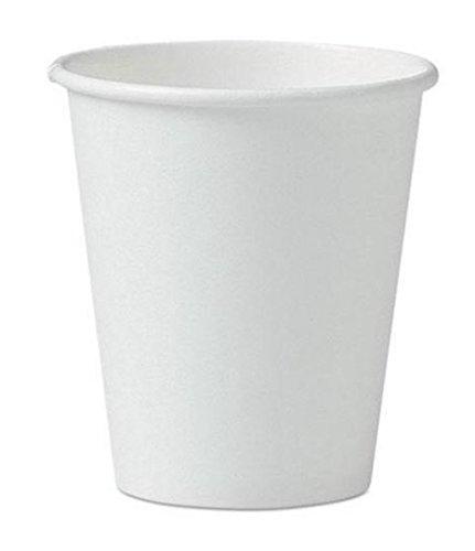 Perfect Paper Espressotassen (50 ct) - Mini Heißbecher für Kaffee, Tee, Nespresso, Wasser, Schnaps, Weizengras, Proben und auch kalte Getränke