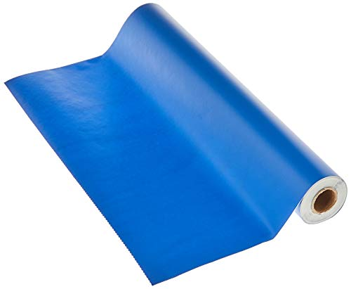 Magic Cover Adhesive Vinyl Paper for Lining Shelves and Drawers Decorating and Craft Projects 18 x 60 Blue
