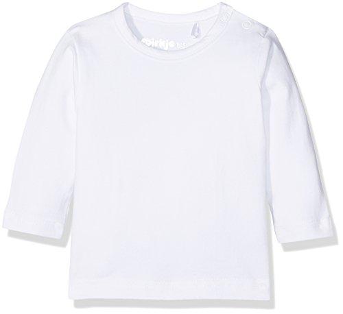DIRKJE T-Shirt Long Sleeves, Blanc (White), 0-3 Mois (Taille Fabricant: 56) Mixte bébé