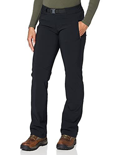 Columbia Adventure Hiking Pantalones y Shorts, Mujer, Negro, 10
