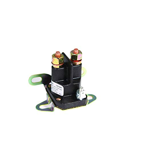 New Stens 435-431 Starter Solenoid Replacement for Wright Mfg. 48', 52' and 61' Stander 53490009, Ariens 03057700, 035770, 03577000, 035832, 03583200, 3057700, 35770, 53504600, AR03577000, AR03583200