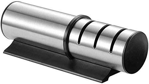 KELITINAus Knife Sharpener Kitchen Knife Sharpening Tool Chef's Choice, Kitchen Blade/Knife Sharpener Stone for Chef Knives,Professional 3-Stage (3 in 1) Diamond, Coarsed &Amp; Ceramic Knife Sharpene