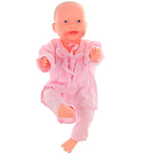 Homyl 52cm Muñeca de Bebé Renacida Maniquí de Niños/Niñas de Vinilo de Articulación Juego para Aprendizaje de Lactancia - #2