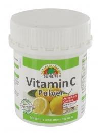 SUNLIFE Vitamin C Pulver, 100 g
