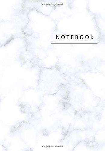 Notebook: Marmo taccuino A5 a righe | agenda | quaderno delle annotazioni | diario | libro di scrittura | carnet | zibaldone - formato A5 (14,8 x 21 cm), 110 pagine, copertina lucida.