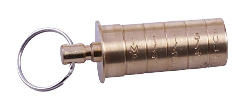 Bisley Brass Choke Gauge 20g by Bisley