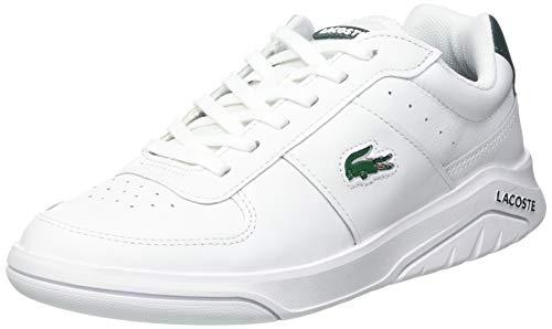 Lacoste Sport Herren Game Advance 0721 2 SMA Sneaker, Wht/Dk Grn, 39.5 EU