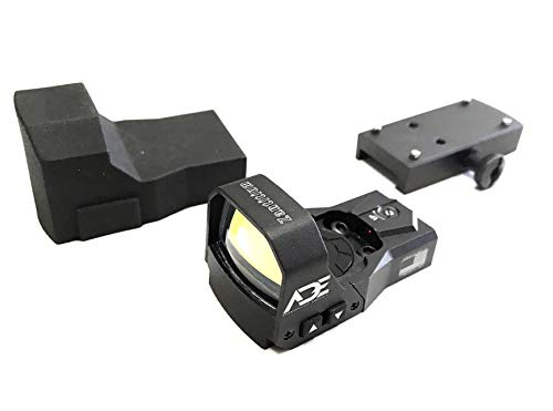 Ade Advanced Optics rd3-015 4MOA Red Dot Micro Mini Reflex Sight for Handgun with 40000 Battery Life