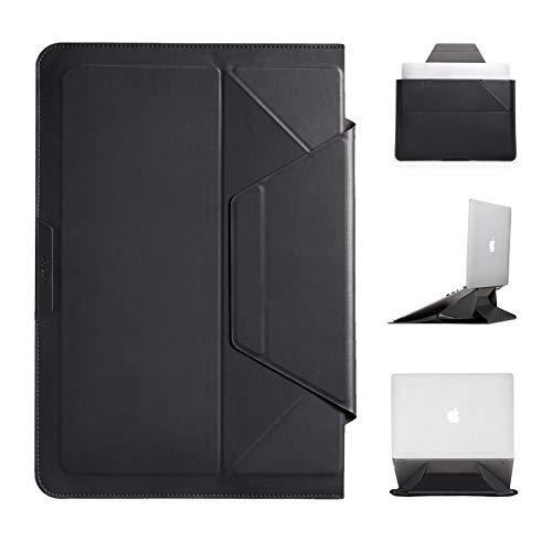 MOFT 「最新開発」ノートpcケース ノートpcスタンド ノートパソコンケース ノートパソコンスタンド 13インチに対応 多機能 ケース/スタンド兼用 macbook air ケース surface laptopケース (ブラック)