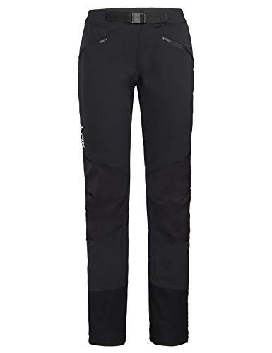 VAUDE Damen Hose Women's Croz Pants, Softshellhose, black, 42, 414050100420