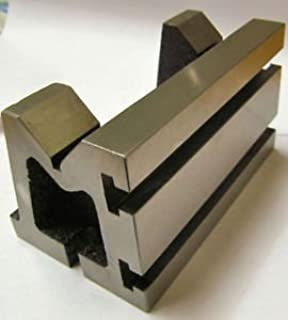 QUALITY PRECISION GRADED CASTE IRON VEE ANGLE PLATES-STRESS RELIEVED - WORK-HOLDING CLAMPING MILLING ENGINEERING MACHINE TOOLS-HEAVY DUTY (4