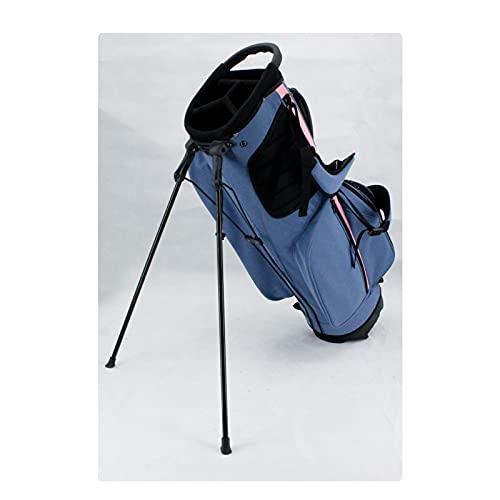 ZQYR Conveniente, Bolsa de separación portátil Holeultralight Golf Bag con Soporte, Base Estable, Fuerte Estabilidad y Durabilidad 423 (Color : Blue)
