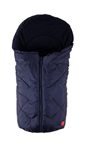 Kaiser, Sacco termico per passeggino/ovetto in pile, Blu (Marine)