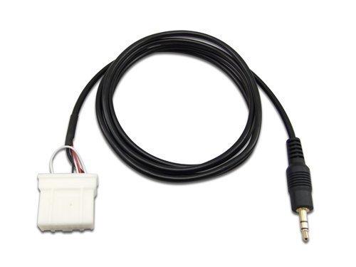 Goliton® AUX 3.5mm Verbindungskabel iPod iPhone MP3 Handy Audio Mazda Auto Player für Mazda 2006+ und Über