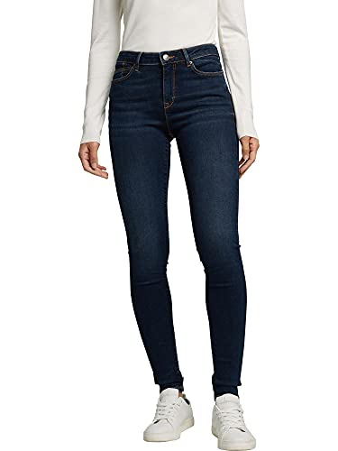 ESPRIT Damen 990EE1B322 Jeans, 901/BLUE Dark WASH, 29/32