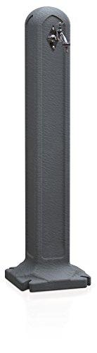 Terra Wasserhahn Tanker Schwarz 24x24x90 cm