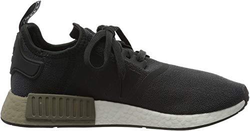 adidas NMD_r1, Zapatillas de Gimnasia para Hombre, Negro (Carbon/Carbon/Trace Cargo Carbon/Carbon/Trace Cargo), 36 2/3 EU
