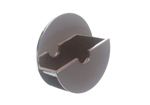 10 de plug Titulaire bâton Tidy On Self Adhesive Chrome plastique