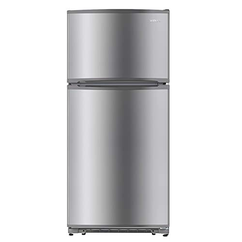 WINIA WTE18HSSLD 18 Cu. Ft. Top Mount Refrigerator - Fingerprint Resistant Metallic Finish