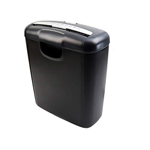 Papieren versnipperaar voor dwarsgesneden papier en creditcards, capaciteit van 10 liter, met elektrische high-performance mini-hakmolen van Mute