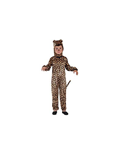 DISBACANAL Disfraz Leopardo Infantil - -, 4 aos