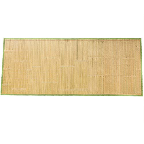 Stuoia di Bambù Estiva Fresca Materasso da Letto Traspirante Tappeto da Gioco Tappeto da Soggiorno Cuscino del Divano,Stuoia Bambù per Dormire Pieghevole per Camera da Letto per Bambini (95x180cm)