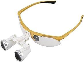 Bonita lupa óptica dental portátil con elegante 3.5X lupa cardiológica Estomatología oftalmológica y cirurgia del cerebro con 420 mm Distancia de trabajo 0404