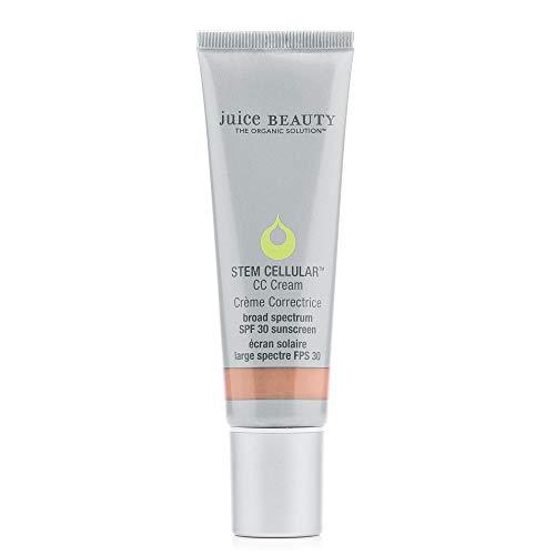 Juice Beauty Stem Cellular CC Cream with Zinc SPF 30, Color-Correcting Face Moisturizer, Sun-Kissed Glow, 1.7 Fl Oz