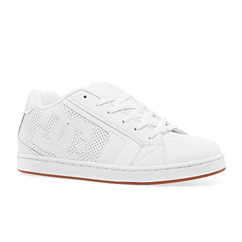 DC SHOES NET Sneakers heren Wit Lage sneakers