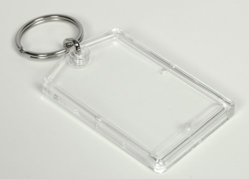 50 STK. Schlüsselanhänger Acryl 3,1x5,1 Foto/Bild/Werbung/Autovermietung/Hotel TOP! aus Einem Guß ! (50)