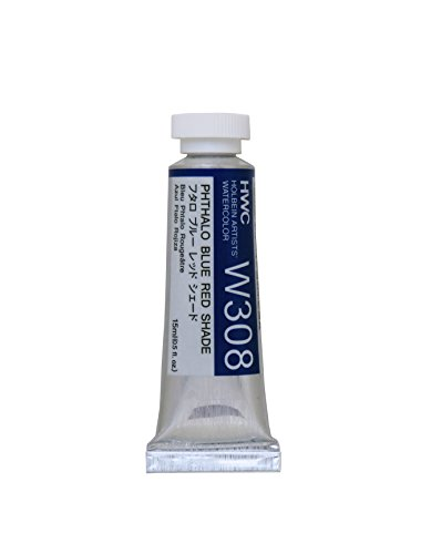 Holbein Artist's Watercolor 15ml Tube (Phthalo Blue Red Shade) W308