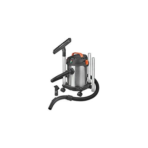 Euromac Force 1012A Zylinder 12L 1000W schwarz, orange, Edelstahl