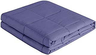 Quality Weighted Blanket - Eco-Luxury Tencel Fabric, Calming Comforter with Glass Beads for Adults, Teens, Kids - Washabl...