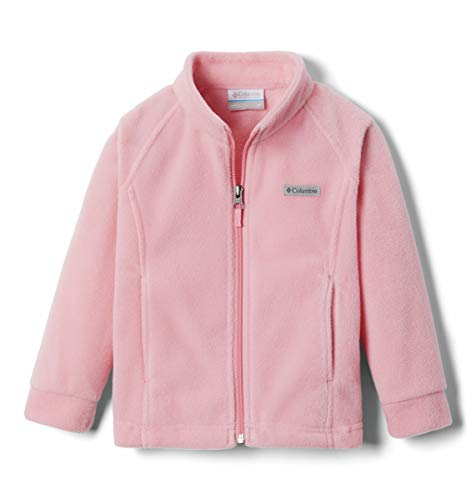 Columbia Baby Benton Springs Jacket, Soft Fleece, Classic Fit, Pink Orchid, 6/12