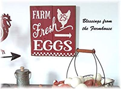 10,2 x 61 cm Decorazione da Parete Targa in Legno Vintage Rustica Ca565urs The Secret Ingredient Is Love Farmhouse Decor