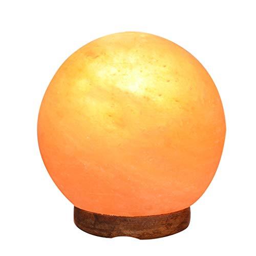Luminaires & Eclairage/Luminaires intérieur/EC Lampe de sel Ronde en Cristal de sel de Himalayan en Cristal de sel Lampe de décoration Lampe de Table de Gradation Lampe de Chevet de la Chambre, CR