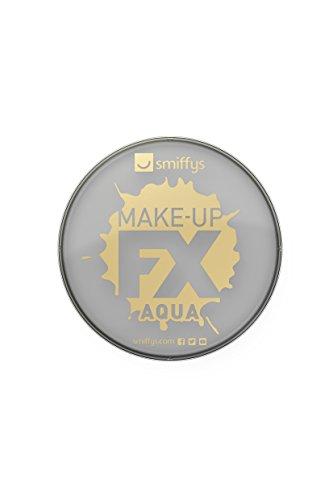 Smiffy\'S 39140 Maquillaje Fx Smiffy Aqua Pintura Facial Y De Cuerpo Claro, Gris Claro