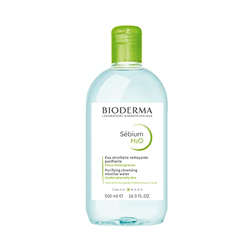 Bioderma - Sébium H2O - Micellar Water - Cleansing and Make-Up Removing - for Combination to Oily Skin