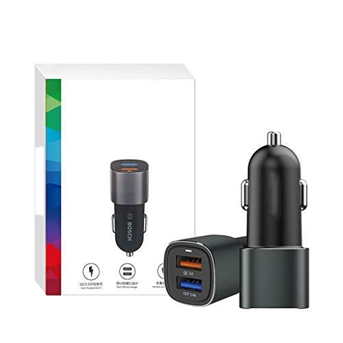 USB universele Qc3.0 dubbele USB snel opladen hoofd slimme snel vullen sigaret aansteker stekker auto adapter adapter