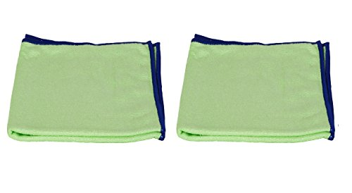 Starfiber Multipurpose Green Miracle Cleaning Cloth (Pack of 2)
