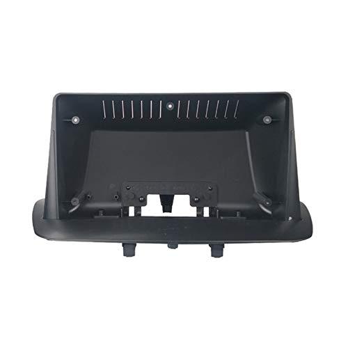 FangFang 9inch Car Fascia Audio Adaptador Adaptador Panel Dash Mount Instalación Double DIN DVD Frame Fit para Renault Megane 3 2009-2014