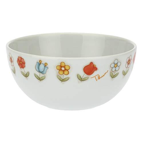 THUN - Ciotola Piccola con Fiori - Linea Country - Porcellana - ø 15 cm