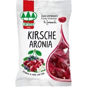 8 Beutel Kaiser Kirsche Aronia a 90g Bonbons Kirsch Bonbon einzeln gewickelt