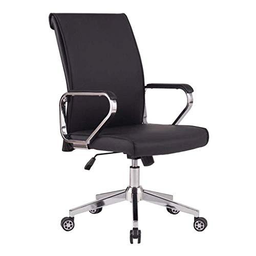 LXDYZ Bureau Chaise - Chaise de Bureau, chaises de Bureau Ergonomique à Haut Dossier for Jeux d'ordinateur avec Support Lombaire, en Cuir reconstitué, pivotant réglable