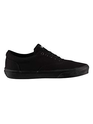 Vans Doheny, Sneaker Uomo, Tela Nera Nera Bianca 186, 42 EU