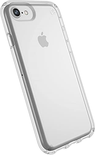 Speck Products Presidio Clear Case for iPhone SE 2020 iPhone 8, iPhone 7, iPhone 6S, iPhone 6 - Clear/Clear, (Non-Retail Packaging)