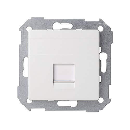 Simon - 82005-30 tapa rj45 s-82 blanco, 55 x 55 mm