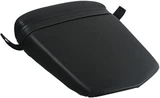 XFMT Black Motorcycles Leather Rear Pillion Passenger Cushion Seat For YAMAHA YZF R6S 2006 2007 2008 2009 YZF R6 YZFR6 2003 2004 2005