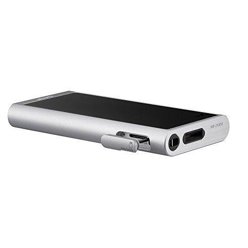 ソニーウォークマンZXシリーズ64GBNW-ZX300:Bluetooth/microSD/Φ4.4mmバランス接続/ハイレゾ対応最大26時間連続再生2017年モデルシルバーNW-ZX300S