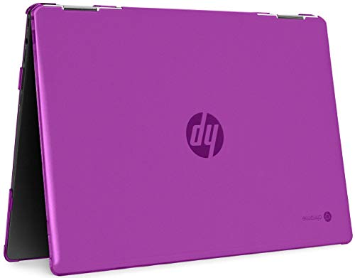 mCover Hard Shell Case for 2020 14' HP Chromebook X360 14b-CAxxxx Series laptops (Purple)
